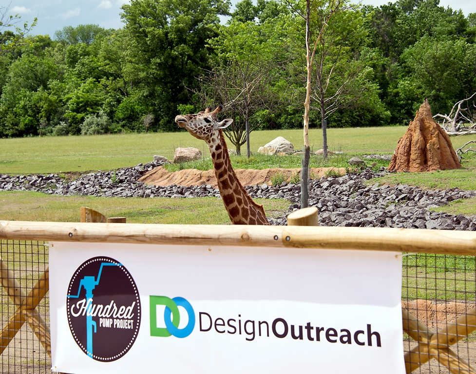 Design Outreach's Hundred Pump Kick Off Event at Columbus Zoo's Heart of Africa