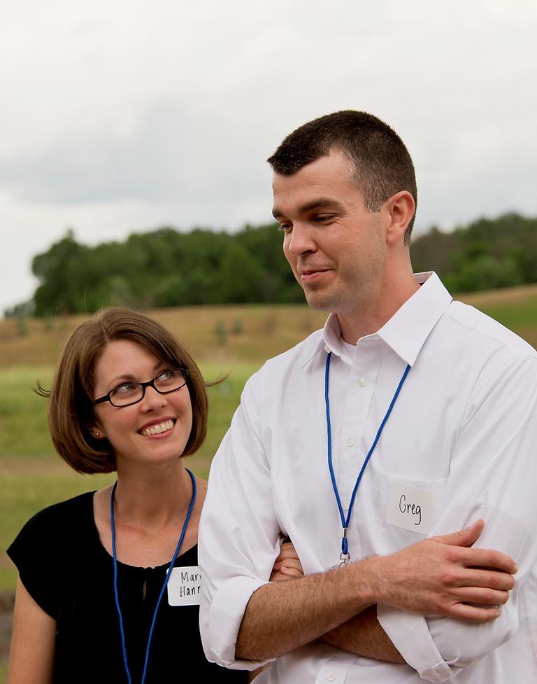 Dr. Greg Bixler with wife, Mary Hannah